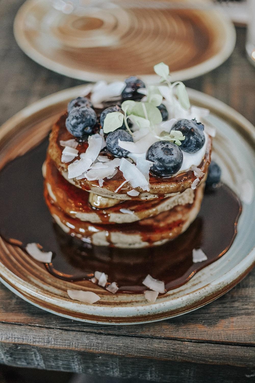 Recette de Pancake myrtille & banane